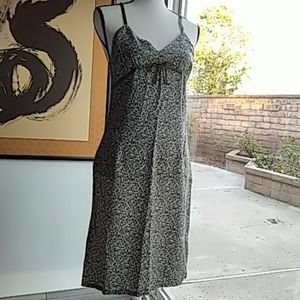 Aeropostale dress 8 fitted summer olive